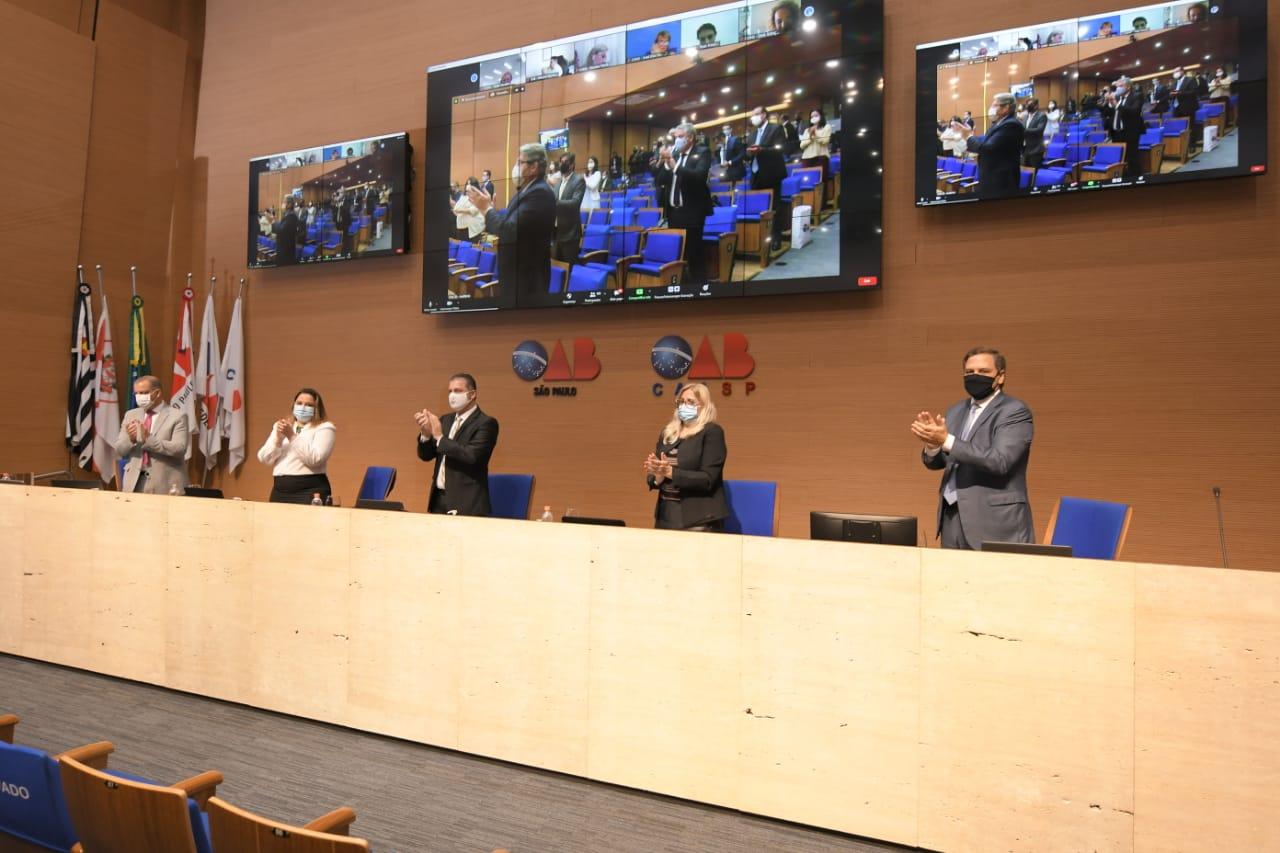 Conselho Secional da OAB SP se reúne pela primeira vez em 2021