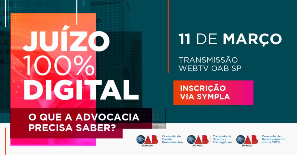 OAB SP Advocacia Juízo 100% Digital