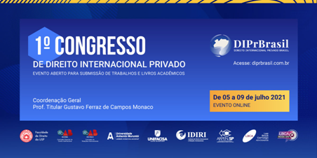 1º CONGRESSO DE DIREITO INTERNACIONAL PRIVADO
